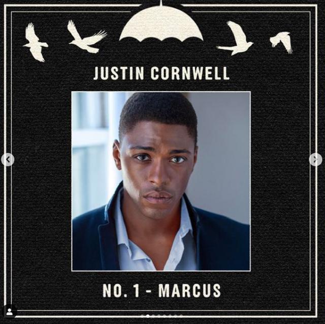 "Justin Cornwell jouera Marcus dans ""The Umbrella Academy 3"" (Photo: Netflix)"