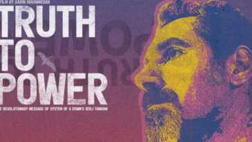 """thruth The Power"": Le Nouveau Documentaire Sur Serj Tankian Et"