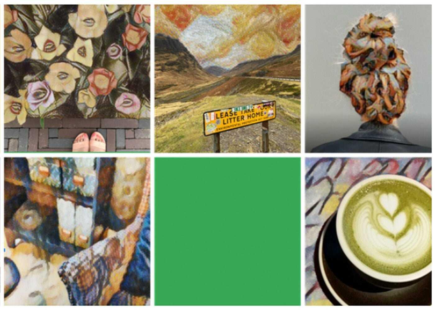 Illustrations de photos d'outils Google