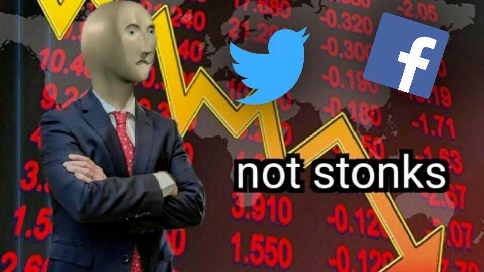 Twitter S'effondre En Bourse Après L'expulsion De Trump, Facebook également