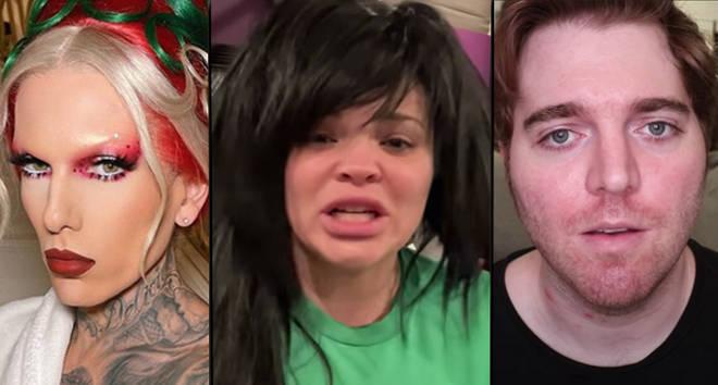Que s'est-il passé avec Jeffree Star, Trisha Paytas et Shane Dawson?