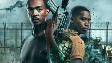 `` Uncovered '': Netflix lance son année de premières avec une fiction de guerre futuriste oubliable commandée par un synthétique Anthony Mackie