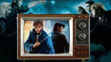 Une émission Télévisée En Direct Sur Harry Potter Se Déroule