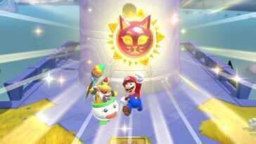 Vous serez en mesure d'ajuster dans quelle mesure Bowser Jr. vous aide dans le nouveau module complémentaire de Super Mario 3D World