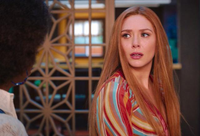Wanda est surprise quand Géraldine mentionne son frère Pietro (Photo: Disney Plus)