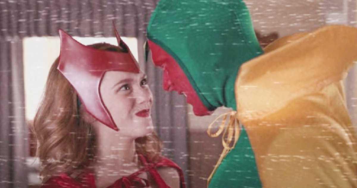 Wandavision Star Tease La Transformation Complète De La Sorcière écarlate