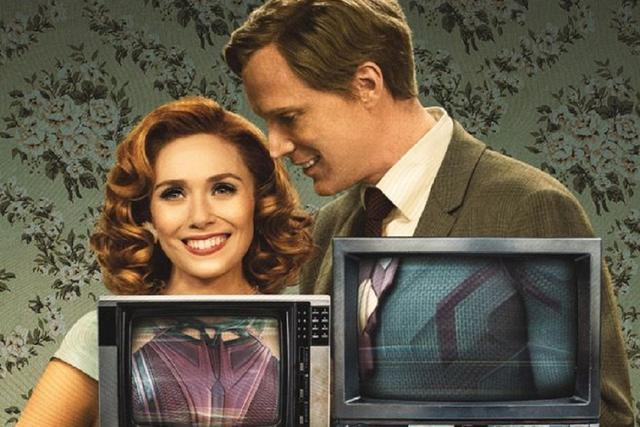 """Le deuxième épisode de """"WandaVision"""" commence dans le style de la série """"Bewitched"""" (Photo: Marvel / Disney +)"""