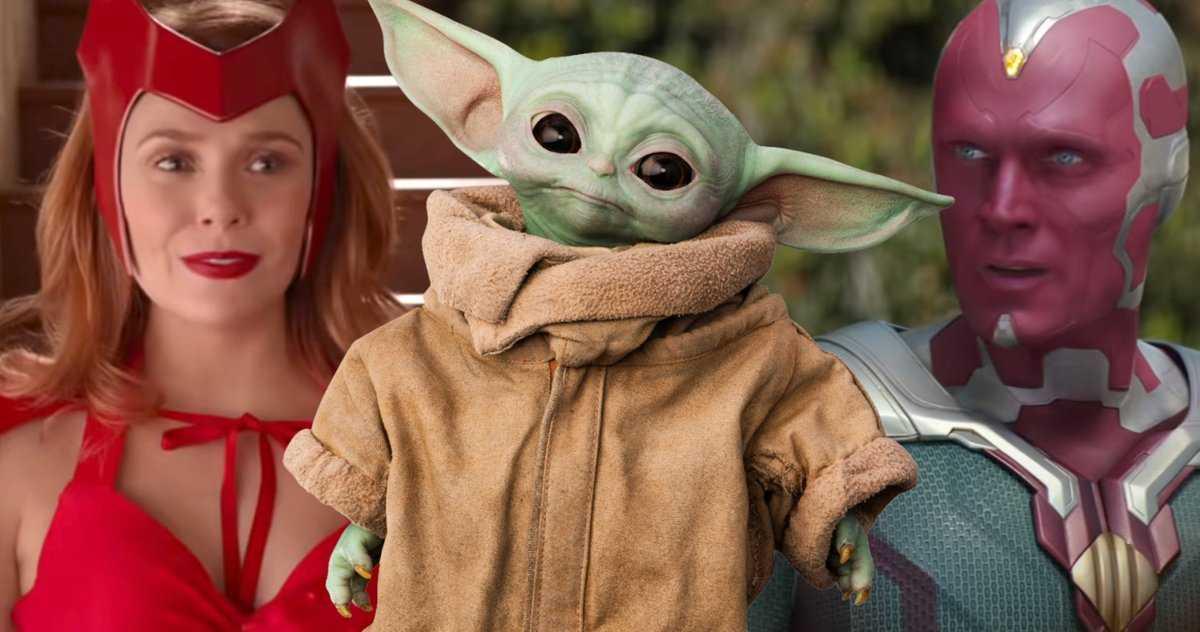 Wandavision Donne T Il Au Mcu Son Propre Moment Baby Yoda?