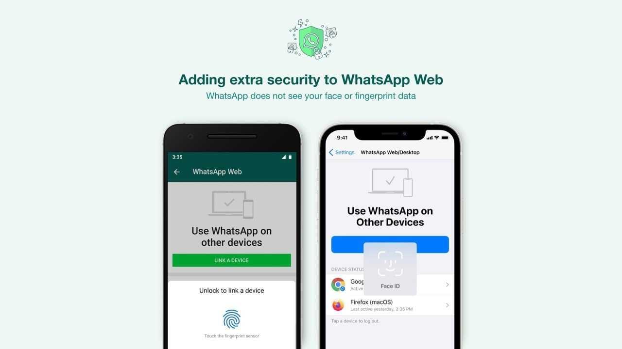 WhatsApp demandera désormais aux utilisateurs une analyse biométrique avant de pouvoir associer leur compte à l'application de bureau