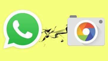 WhatsApp empêche le partage de photos depuis l'appareil photo Google dans sa dernière mise à jour