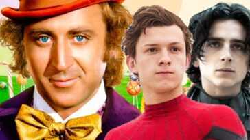 Willy Wonka Prequel Set Pour 2023, Tom Holland, Timothee Chalamet