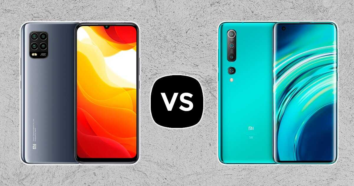 Xiaomi Mi 10 Lite contre Xiaomi Mi 10