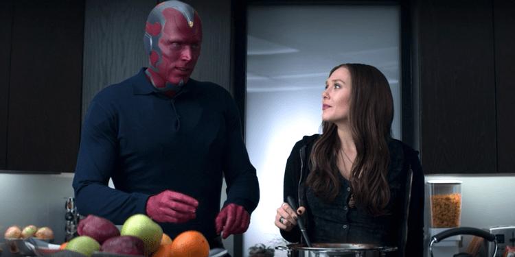 Captain America Civil War Wanda Vision