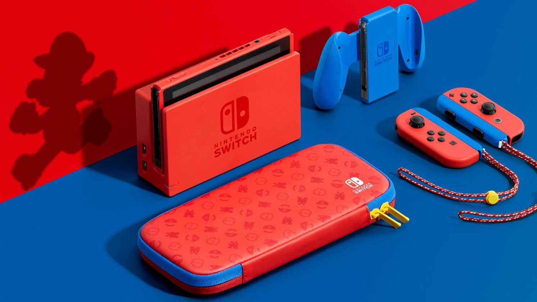Nintendo Switch Mario Console
