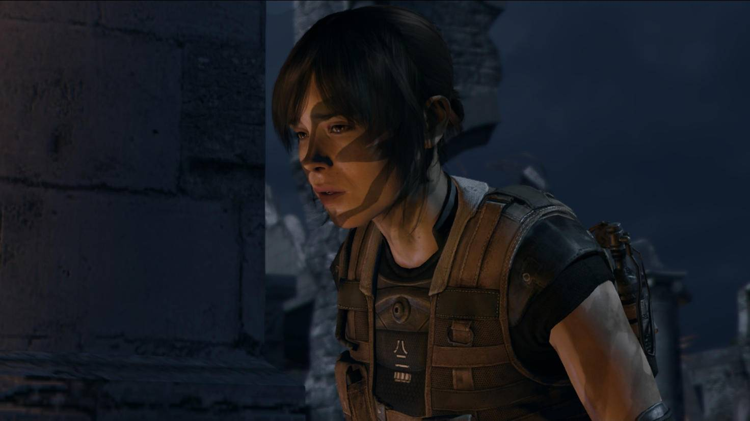 """""""Beyond: Two Souls"""" est sorti en 2013 pour la PS3 et plus tard aussi pour la PS4.  Il est arrivé sur le PC en 2019."""