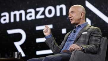 Jeff Bezos Quittera Ses Fonctions De Pdg D'amazon Au Troisième