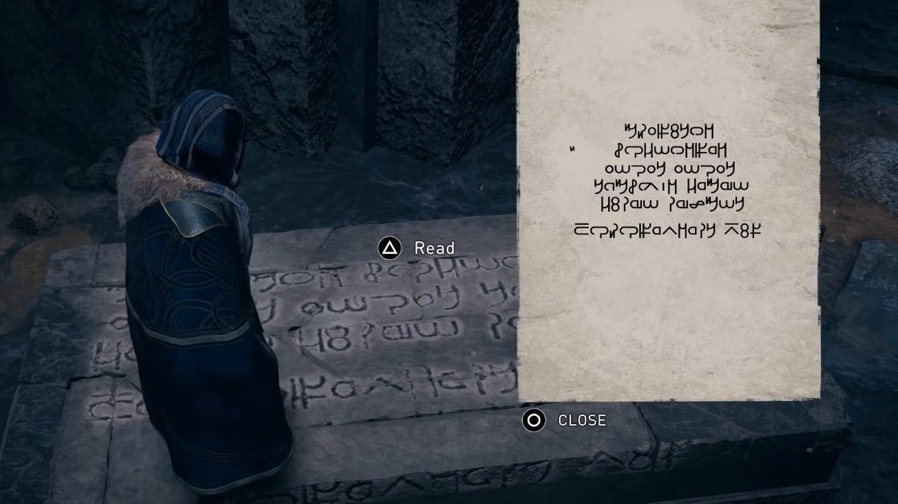 Assassin's Creed Valhalla Isu langue fissurée