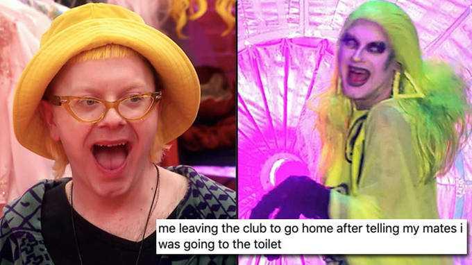 Drag Race Uk: La Sortie De Ginny Lemon Devient Un