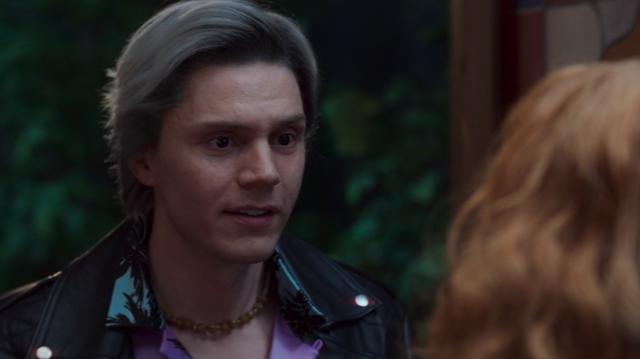 """Evan Peters est apparu comme Pietro Maximoff dans """"WandaVision"""" (Photo: Disney + / Marvel)"""