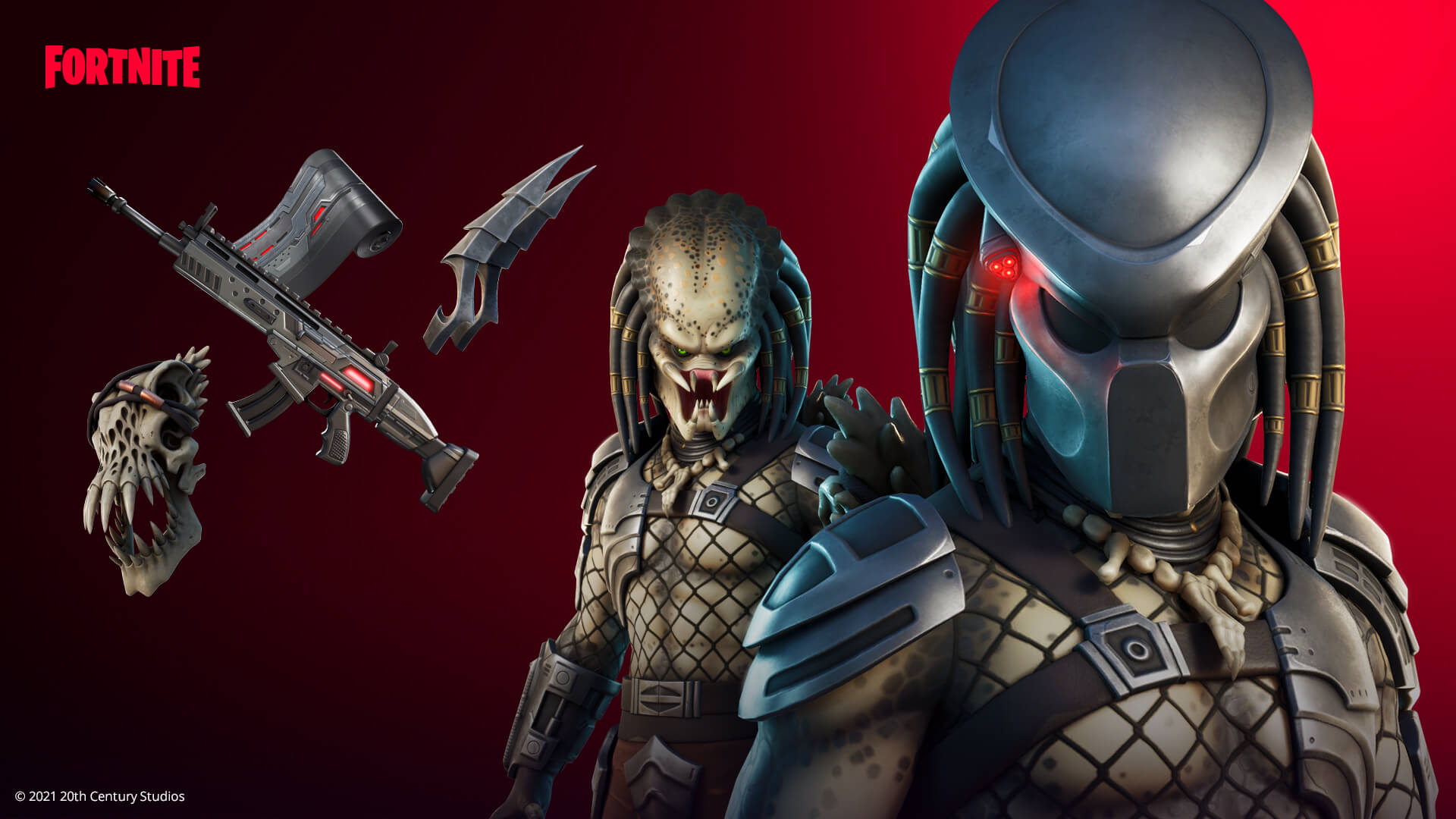 Légendes de la science-fiction, le Predator, le Terminator T-800 et Sarah Connor sont arrivés à Fortnite.