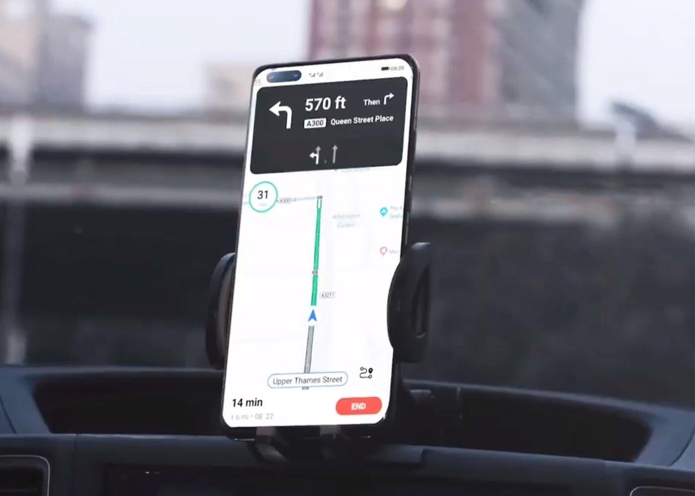 Petal Maps, les cartes et l'application de navigation de Huawei