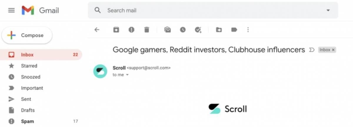 Voici le nouveau design de Gmail pour ordinateur de bureau