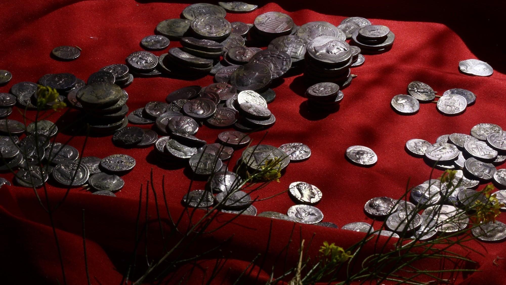 La plupart des pièces ont été frappées dans le sud de l'Italie.