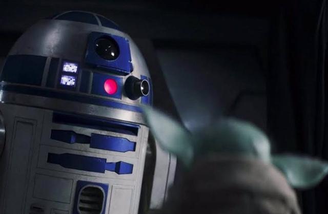 Gorgu a reconnu R2-D2 lorsqu'il est entré avec Luke Skywalker (Photo: Disney Plus)