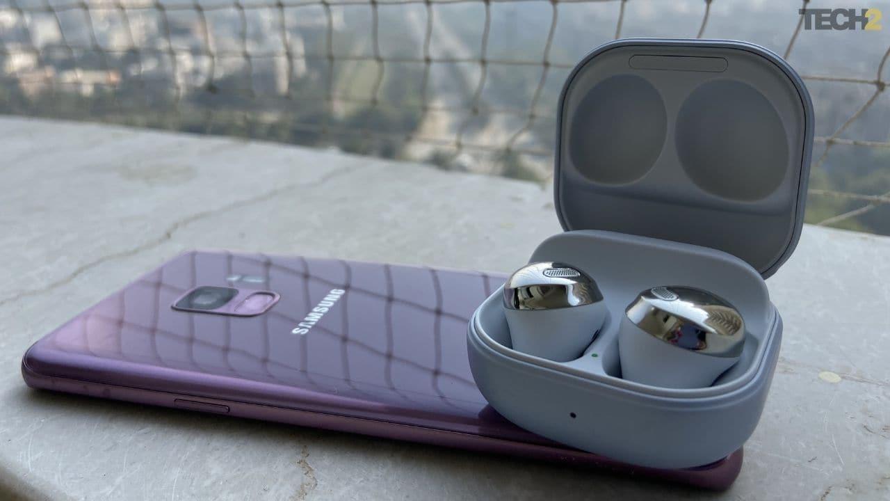 Les Samsung Galaxy Buds Pro fonctionnent au mieux lorsqu'ils sont connectés à un autre appareil Samsung.  Image: tech2 / Nandini Yadav