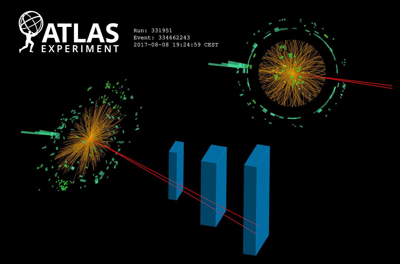 Dans une nouvelle étude, des chercheurs travaillant avec le grand collisionneur de hadrons ont trouvé la première preuve d'une rare désintégration du boson de Higgs.
