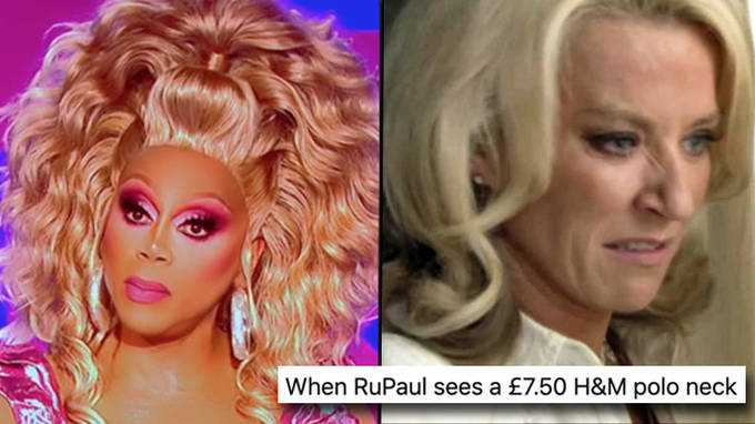 Drag Race Uk: Rupaul Déchirant La Robe H&m De Joe