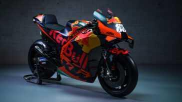 Découvrez La Ktm Rc16 2021. «l'orange Mécanique» De Miguel Oliveira