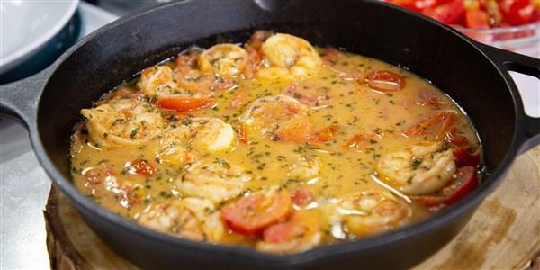 Crevettes ivres