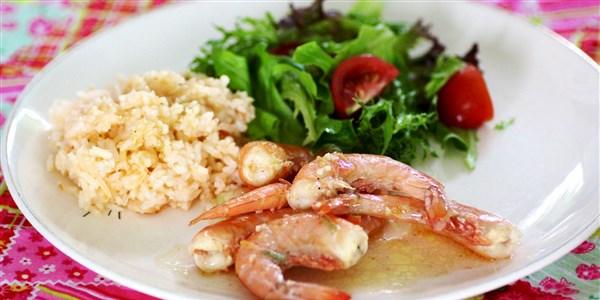 Crevettes grillées à la Nouvelle-Orléans