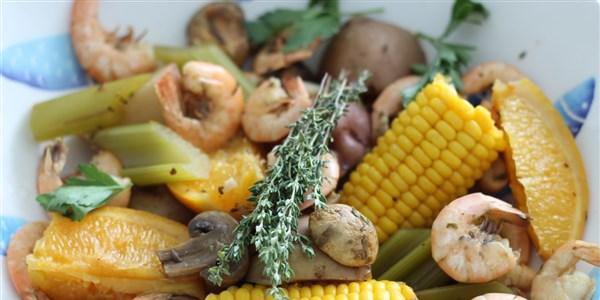 Faire bouillir les crevettes à la Nouvelle-Orléans