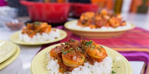 Crevettes et riz spéciaux de Momma Evelyn
