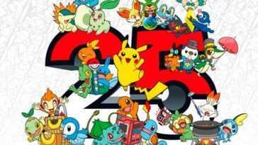 Pokémon confirme d'autres annonces à venir pour son 25e anniversaire