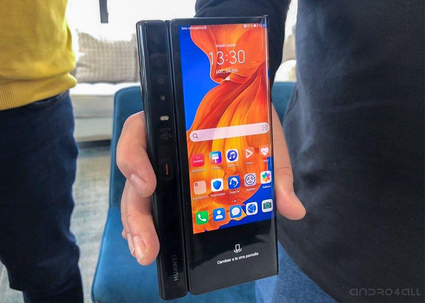 Huawei Mate Xs, écran fermé