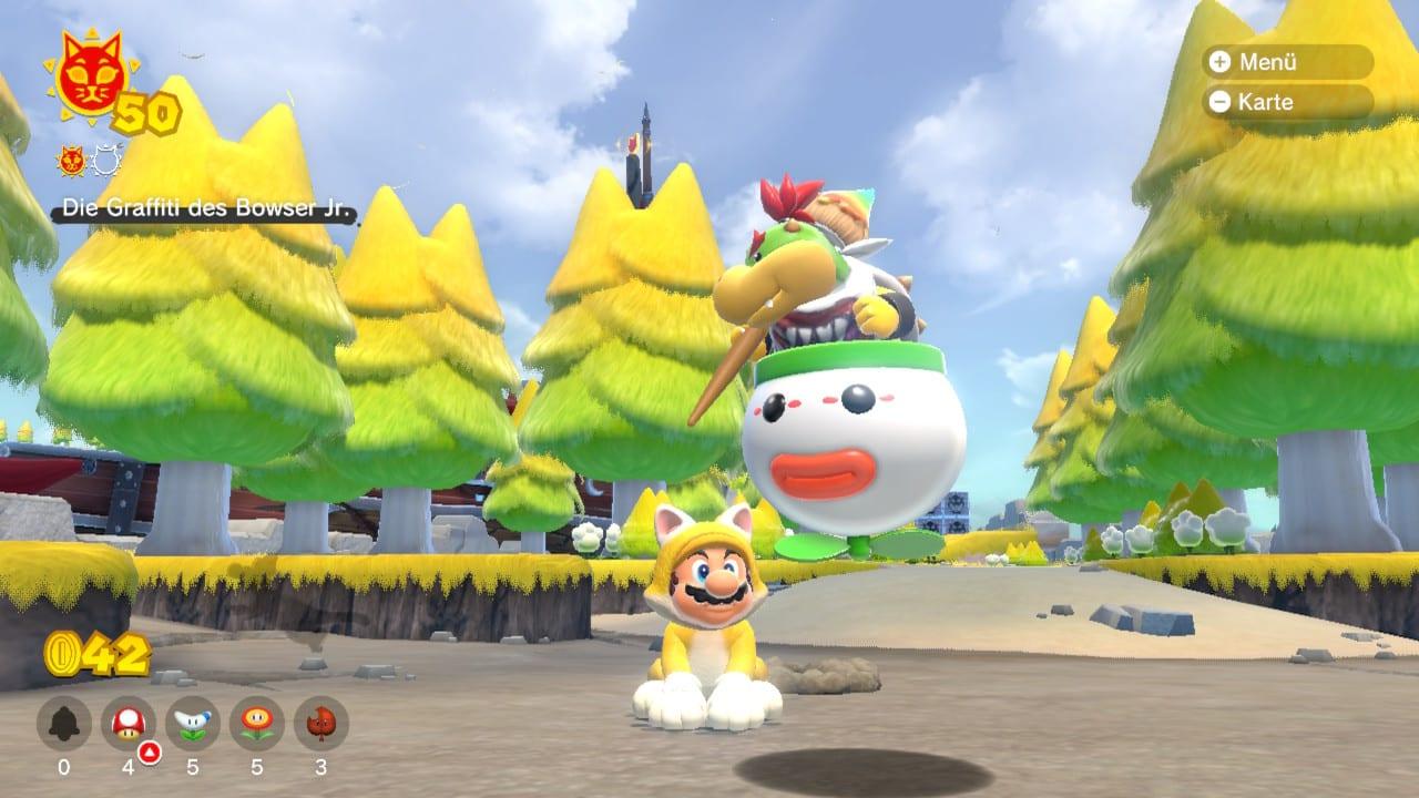 Super Mario 3D World Bowsers Fury multijoueur coopératif