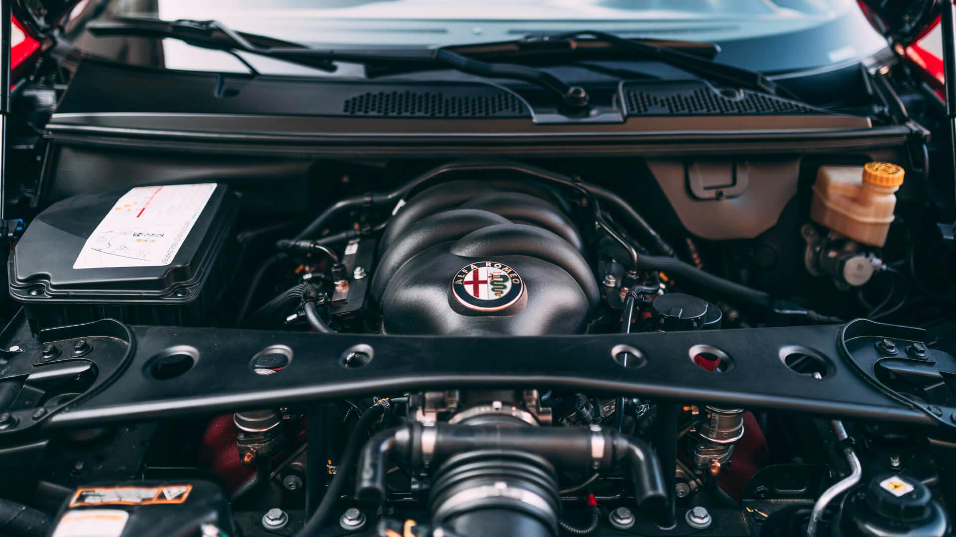 Alfa Romeo Disco Volante Spyder par Touring