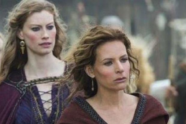 """Jessalyn Gilsig a joué Siggy lors des trois premières saisons de """"Vikings"""" (Photo: History Channel)"""