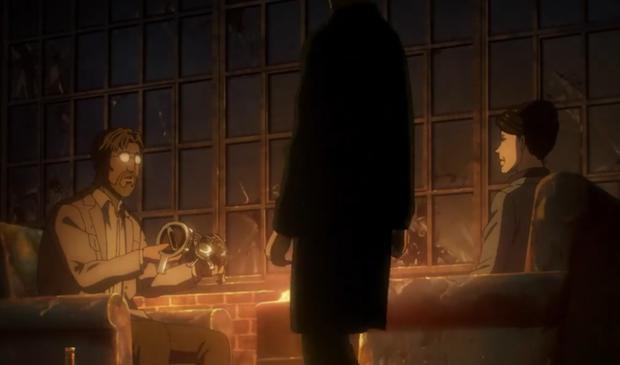 Zeke conclut un accord avec Kiyomi Azumabito (Photo: Crunchyroll)