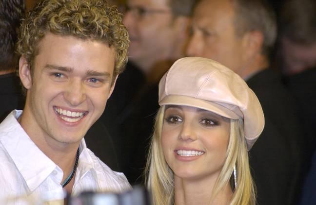 Justin et Britney datés de 1999 à 2002 (Crédit: Shutterstock)