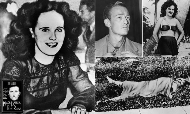 Elizabeth Short, Black Dahlia et photos de ses recherches (Photo: Getty Images)