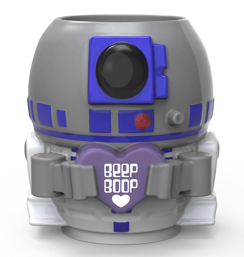 Mug Chibi Star Wars R2D2 Saint Valentin