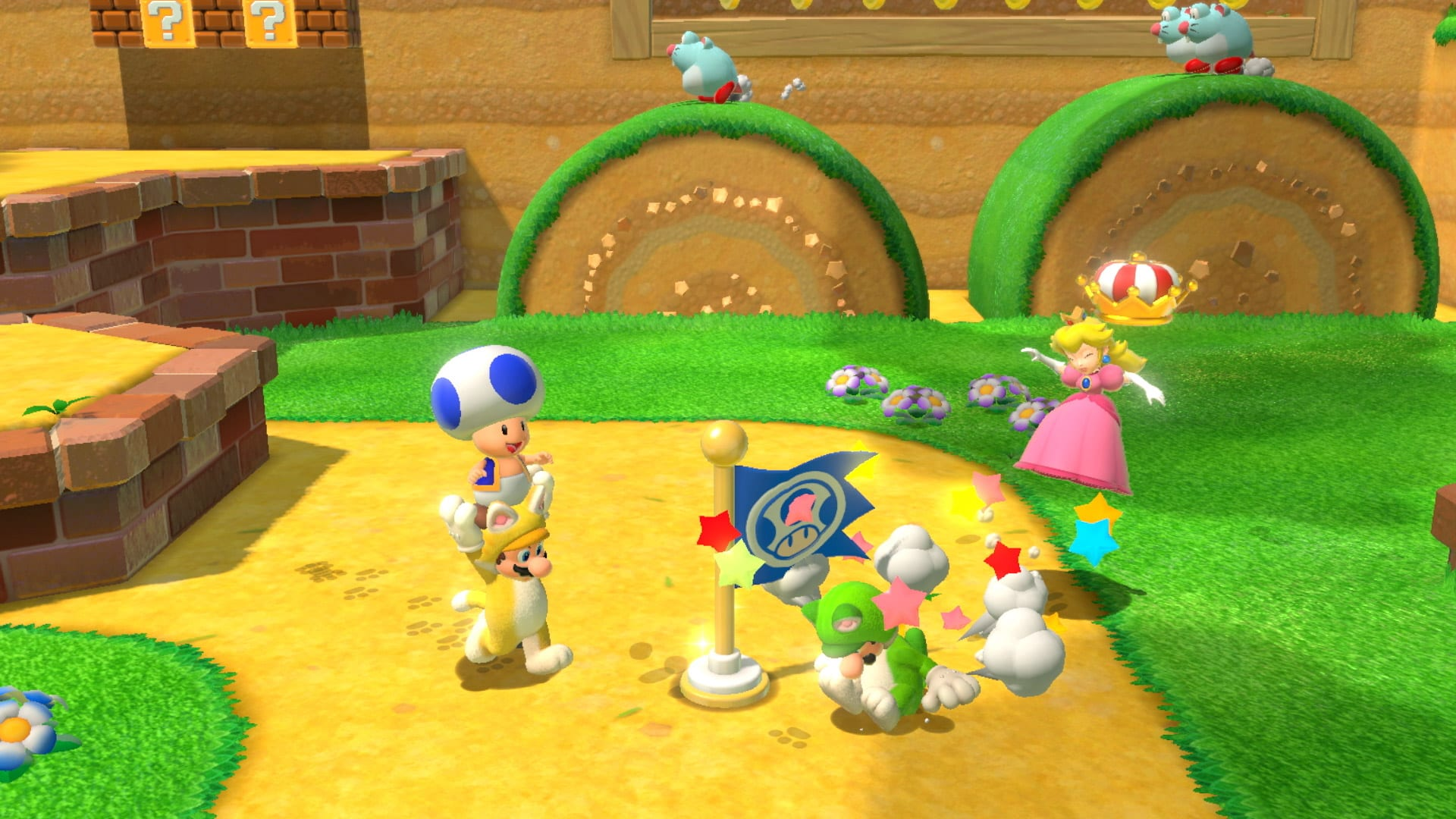Super Mario 3D World Bowsers Fury Guide Conseils Astuces