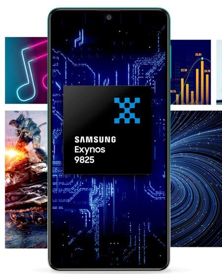 Processeur Samsung Galaxy F62