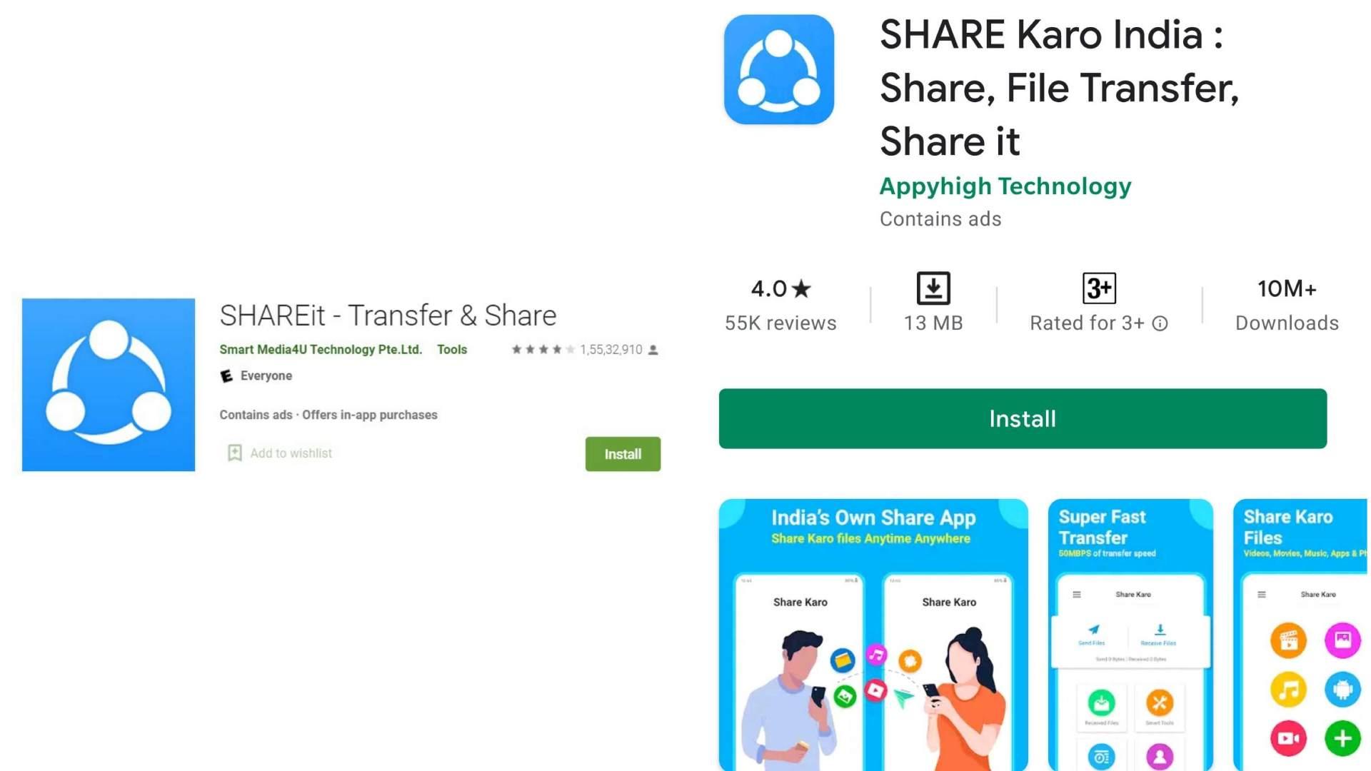 Shareit-ShareKaroIndia