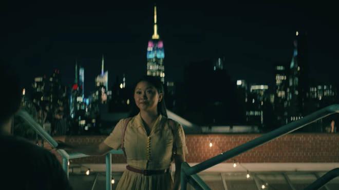 À tous les garçons 3: l'Empire State Building était illuminé des couleurs emblématiques du film