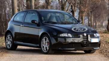 L'alfa Romeo 147 Gta Est Mise Aux Enchères. Encore Aujourd'hui,